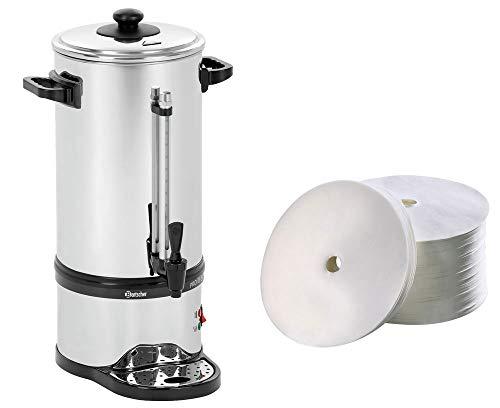 Bartscher Rundfilter Kaffeemaschine Pro Plus 60T + 250 Rundfilter