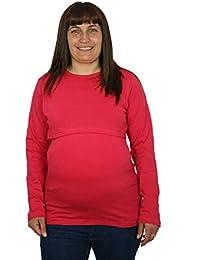 Cuidados de enfermería alto de maternidad o azul-Camiseta de manga corta, talla 36, 38, 40, 42 a 44