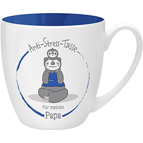 Gruss Co 45504 Anti Stress Tasse Fur Papa 45 Cl Geschenk New