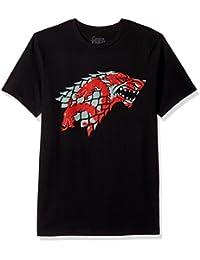 Game of Thrones Men's Bloody Sigils Stark and Targaryen T-Shirt
