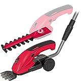 WALTER Werkzeuge WWGS 72/17 Akku-Gras- und Strauchschere, 10.8 W, 7.2 V, Rot/schwarz