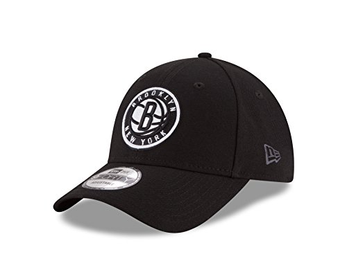 New Era 9FORTY NBA Brooklyn Nets Kappe Unisex, schwarz/weiß, OneSize
