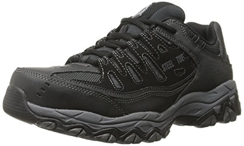 Skechers for Work 77055 Cankton Athletic Steel Toe Lace Boot