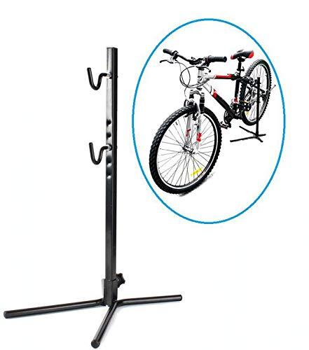 INION MHBS02 - Fahrradständer Fahrradhalter Montageständer Reparaturständer Fahrradparkplatz Ständer Fahrrad Bike Halterung Bodenständer/chiavi