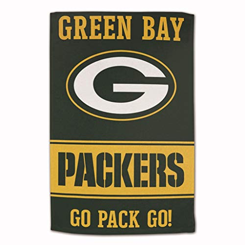 Master Industries Green Bay Packers Handtuch, sublimiert, Baumwolle, 40,6 x 63,5 cm