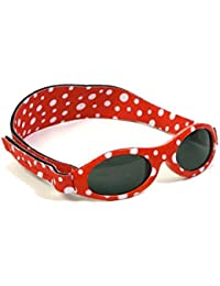 Kidz Banz Adventurer Sunglasses 2-5 Years - Red Dot