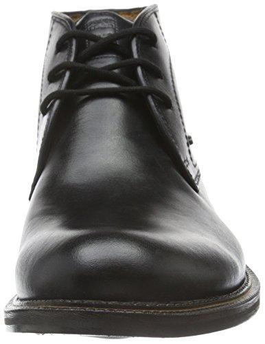FRETZ men Herren Rover Chukka Boots Schwarz (51 Noir)
