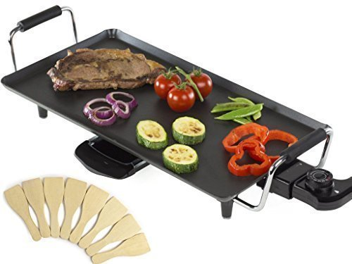 electric-teppanyaki-table-top-grill-griddle-bbq-barbecue-with-8-free-spatulas-2000w-grills-healthy-h