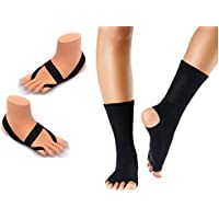Comparador de precios ashipita yoga conjunto completo negro que consiste en seleccionar los calcetines ashipita y el flujo de la yoga del dedo del pie negro - precios baratos