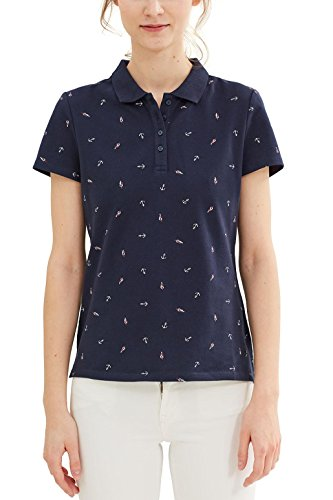 ESPRIT Shirt Donna Multicolore (Navy 2)