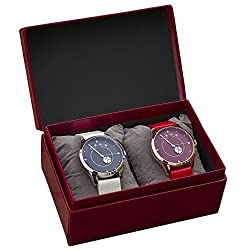 Yotsuhazikan Pair Watch White/Red