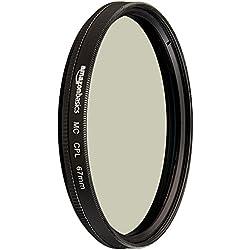 AmazonBasics Filtre polarisant circulaire - 67mm