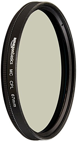 AmazonBasics Zirkularer Polarisationsfilter - 67mm
