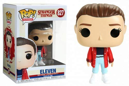 Funko Pop Eleven con chaqueta roja (Stranger Things – Tercera temporada 827) Funko Pop Stranger Things