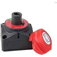 Jiobapiongxin 12V / 24V Baterías extraíbles Marinas Isolatoe Corte Apagado Interruptor Apagado Encendido