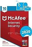 McAfee Internet Security 2020 - Antivirus | 10 Dispositivos | Suscripción de 1 año | PC/Mac/Android/Smartphones | Código de activación por correo