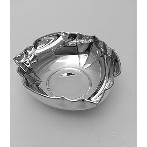Ciotola ciotola per confetti D 6,5cm argento Sterling 925in ottima