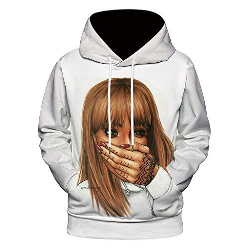 Kinder Kostüm Zeus - VBWER Unisex Slim Fit Hoodie Long Sleeve Kapuzenpullover 3D Druck Muster Sweatshirt Pullover Sweater Pullover Hooded