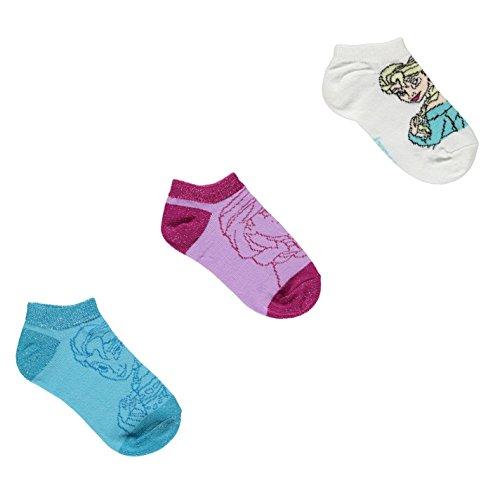 Disney-Frozen-Socks-3-Pack-BluePinkWhite-Character-Sock