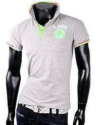 Herren Poloshirt T-Shirt Shirt B-MEN Tanktop Tank top T shirt Body
