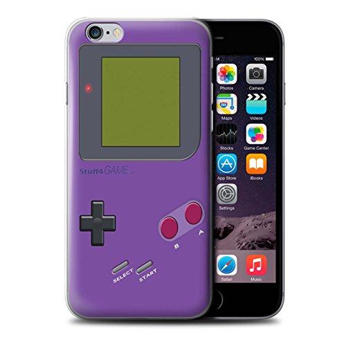 Stuff4 Hülle / Case für Apple iPhone 6+/Plus 5.5 / Violett Muster / Videogamer/Gameboy Kollektion Violett
