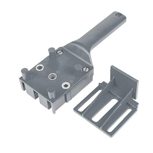 Kcibyvx Handheld Holzbearbeitung Dübel Jig Drill Guide Holzdübel Bohren Lochsäge