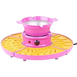 Rosenstein & Söhne Gummibärchenmaschine: Gummibärchen-Maschine und Schokokonfekt-Maker mit Gussformen-Set, 25 W (Gummibärchenmaker)