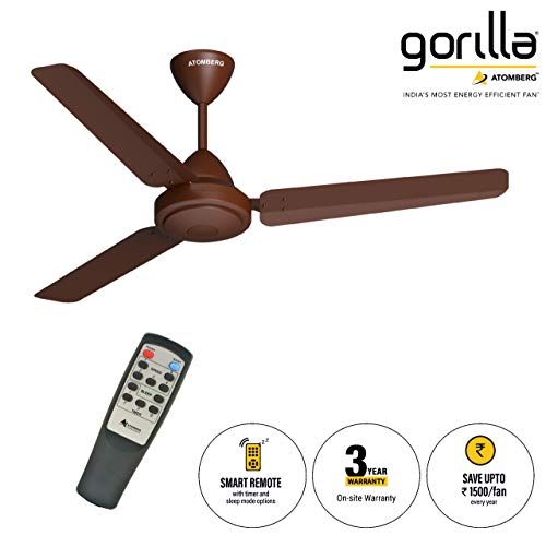 10 Off On Gorilla Energy Saving 5 Star Rated 1200 Mm Ceiling Fan