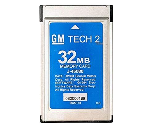 Prinsong Tarjeta Tech2 con 6 Software Herramienta de diagnóstico Tech 2  para Holden/Opel/GM/SAAB/Isuzu/Suzuki tech2 saab 32 MB Tarjeta de Memoria