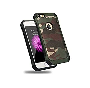 separation shoes 2203e 9d4db iPhone 5 5S SE Army Case by C63® Military Camouflage Hard Protective Army  Case Cover - Green