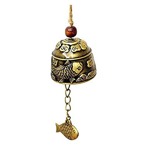 Uteruik - Campana de dragón Vintage con diseño de Campana de Buena...