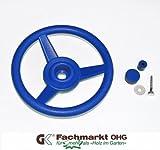 Lenkrad/Steuerrad für Spielanlagen, blau