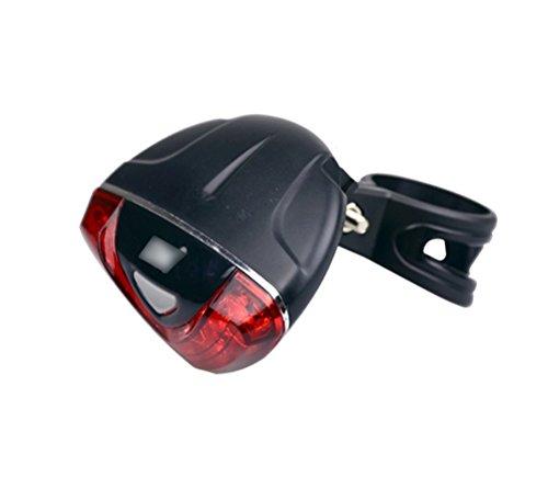 Nasis Fahrradbeleuchtung Rückseite 5LED-Fahrrad-Rücklicht Fahrrad Rücklicht Fahrradlicht AL7029