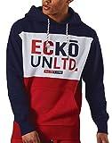 Ecko - Sudadera con Capucha para Hombre, Azul Azul Marino M