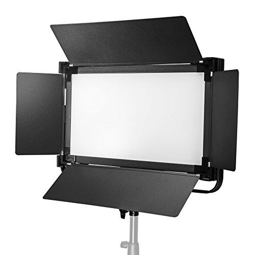Walimex Pro Soft LED 1400 Bi Color Square Flächenleuchte, 100 Watt schwarz
