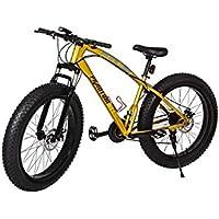 Phantom Set Fat Bike 26 Pollici 21 Marce Shimano Fat Mountain Bike