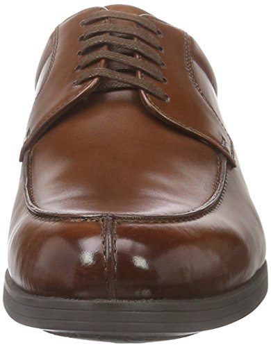 Weber Derby Full Brogue, Derby homme Braun (7375)
