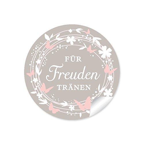 """Aufkleber """"Für Freudentränen"""""""