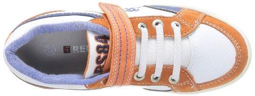 Redskins Zouloukid, Sneaker bambino bianco (Blanc (Blanc/Orange/Bleu))