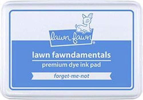 Lawn Fawn, Lawn fawndamentals, Premium dye Ink pad, 55x85mm, Forget-me-not -