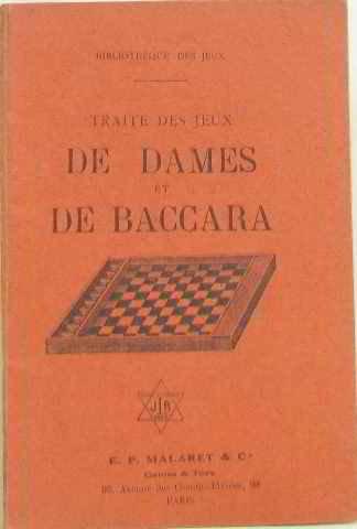 Traité des jeux de dames et de baccara