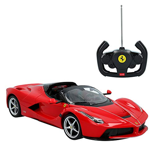 Rastar - Coche radiocontrol Ferrari Laferrari Aperta, Escala 1:14 (41270)