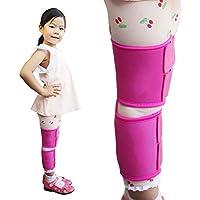 Pierna Piernas Corrección O / X Tipo Ajustable Cinturón De 3 Piezas Polainas Extracción Corregir La Postura Recuperación Que Se Endereza Jmung ,M