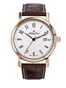 Mathey-Tissot Analog White Dial Men's Watch-HB611251PG