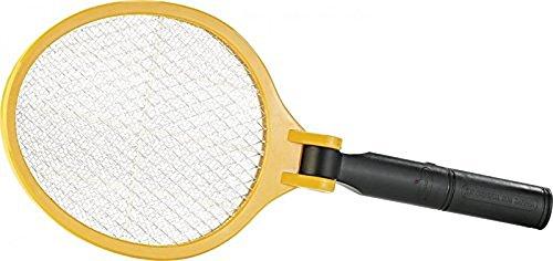 infactory Mückenschläger: Elektrische Fliegenklatsche mit klappbarem Griff (Elektronische Fliegenklatsche)