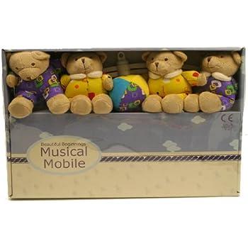 Beautiful Beginnings Bear Musical Mobile