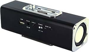 Stereo Lautsprecher für Apple iPhone, iPod 3 3GS 4 4S, MP3 Dockingstation, USB und micro SD Anschluss, als Ladestation nutzbar, Radio, CM3-AC-001