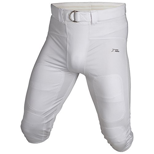 Active Athletics American Football Hose, No Fly Gamepants - weiß M