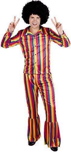 Regenbogen Hippiekostüm Rainbow
