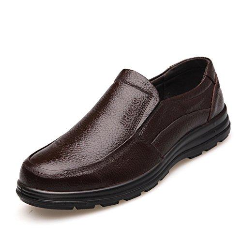 Scarpe Scarpe casual in pelle da uomo Scarpe eleganti con lacci Scarpe lavoro formale ( Color : D-38 ) D-38